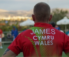 Welsh International and Cardigan Bowling Club member Kevin James